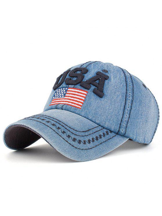 أوسا، بطة التطريز، قبعة البيسبول - Cadetblue رقم