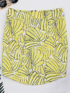 Jupe A-ligne Zippée Haut Imprimée - Floral S