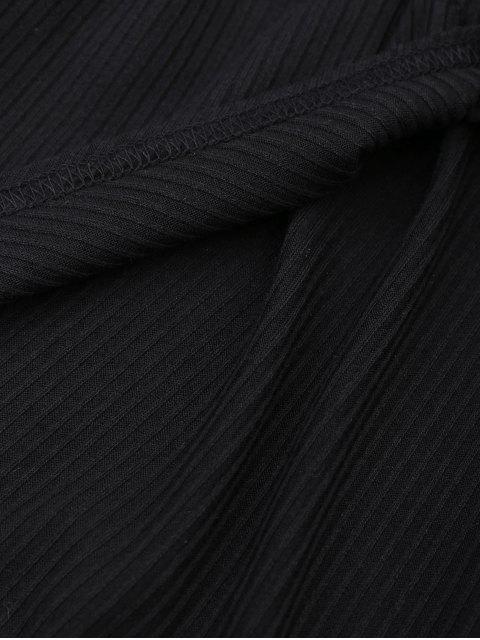 Culottes taillées coupées en croix - Noir XL Mobile