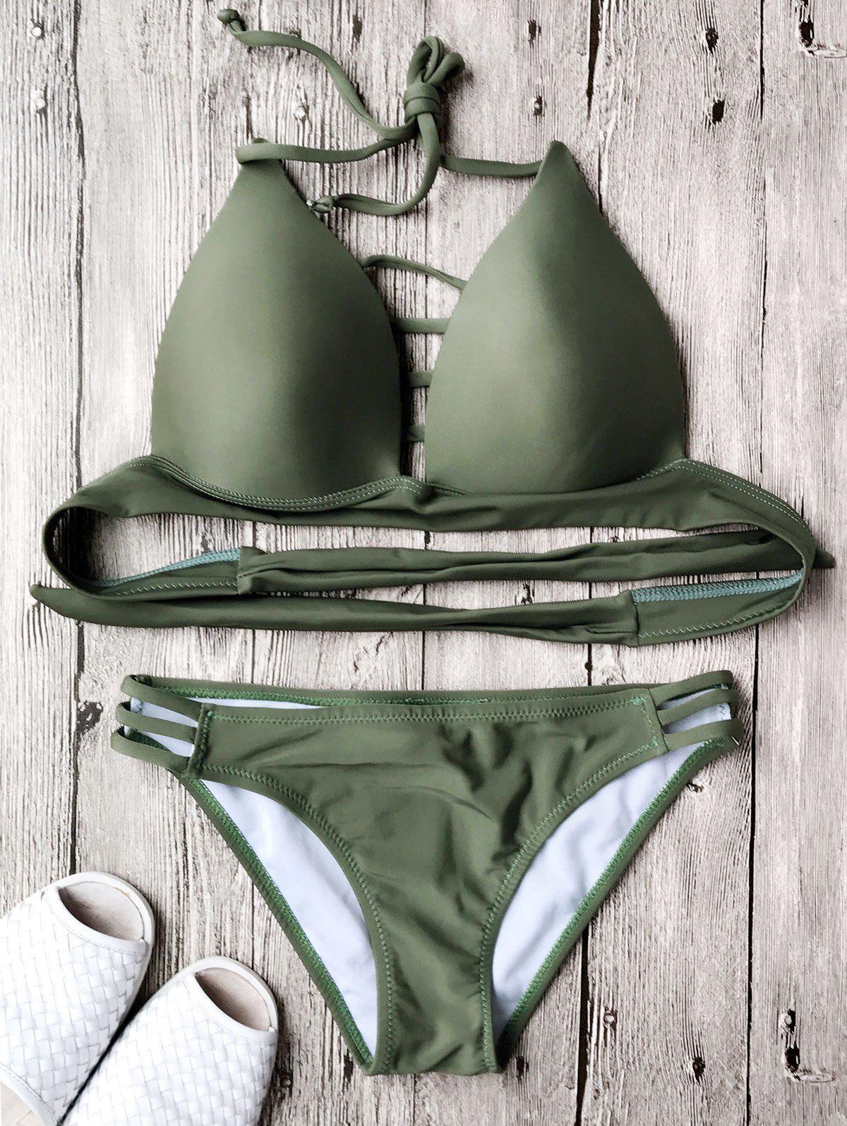 Fuller Bust Molded Cup Bikini Set 213470903