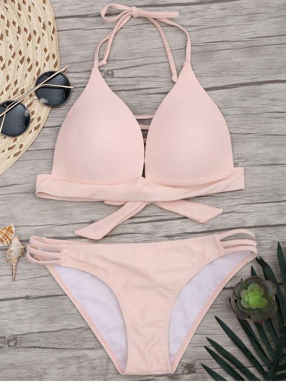buy Fuller Bust Molded Cup Bikini Set - PINK M