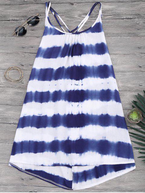 best Cami Flowy Dress With Stripes - STRIPE S Mobile