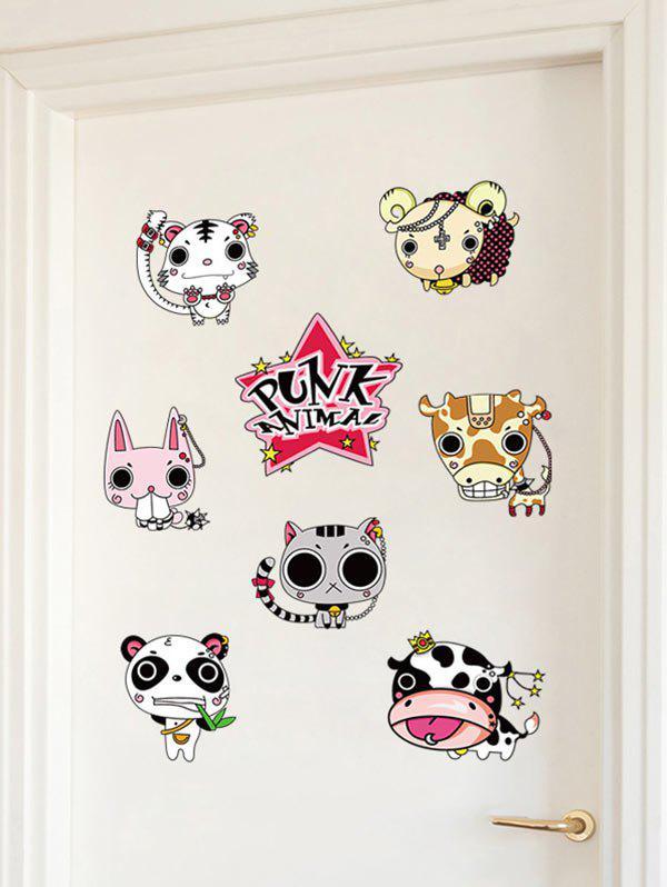 Cartoon Animal Wall Art Sticker For Kids Room 213528701