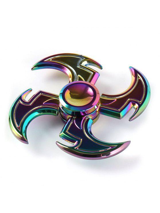 شكل الفأس الملونة التملق لعبة اليد سبينر - ملون 7 * 7 * 1.5CM