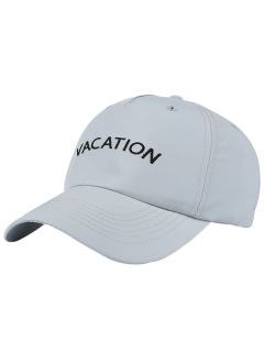 Waterproof Letters Embroidery Baseball Hat - Light Gray