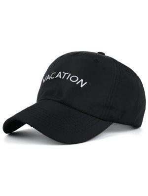 Waterproof Letters Embroidery Baseball Hat