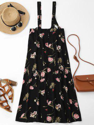 Robe Chasuble Maxi Florale