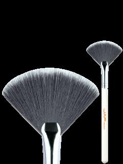 Cepillo De Maquillaje De Belleza - Blanco