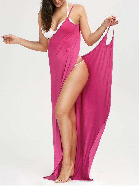 outfits Beach Maxi Wrap Slip Dress - TUTTI FRUTTI XL