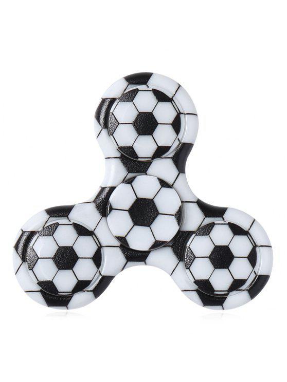 2018 Fidget Spinner De Plástico Con Estampado De Fútbol Con Tres ...