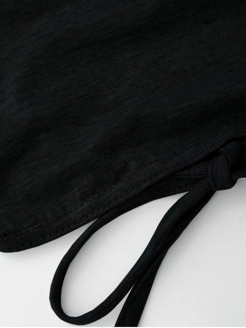 Débardeur court dos nu - Noir M Mobile