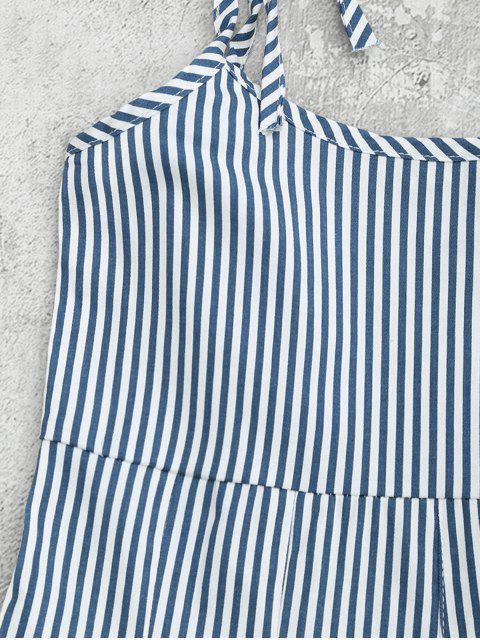 trendy Cami Striped Pinafore Romper - STRIPE ONE SIZE Mobile