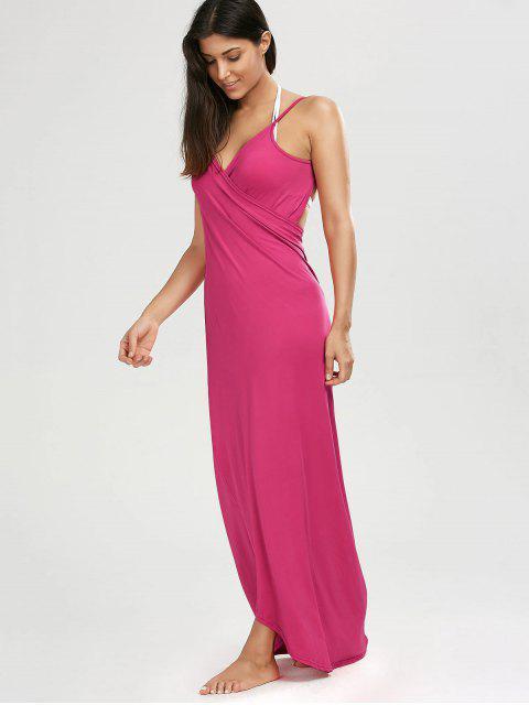 new Beach Maxi Wrap Slip Dress - TUTTI FRUTTI S Mobile