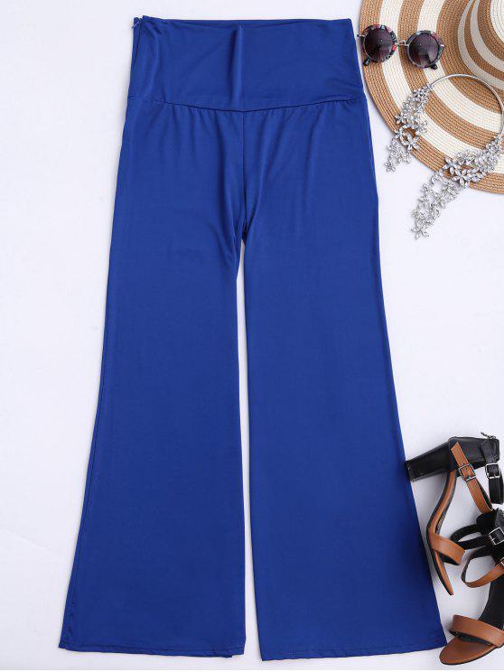Pantalones Palazzo - Azul Zafiro S