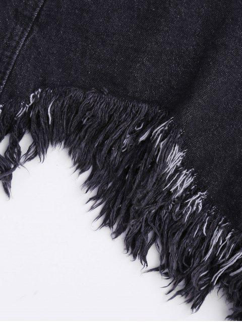Pantalons Shorts Denim - Noir XL Mobile