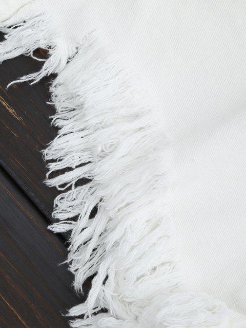Pantalons Shorts Denim - Blanc XL Mobile
