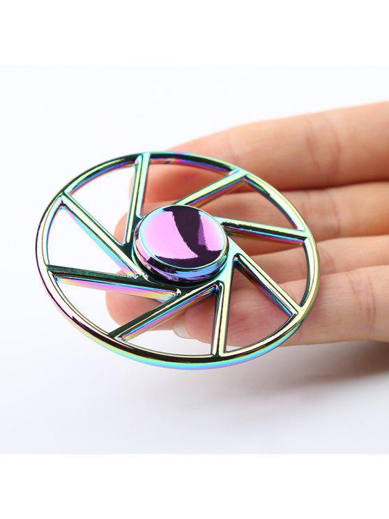 الإجهاد المخلص عجلة الشكل الملونة المعادن فيدجيت الدوار - مزيج ملون
