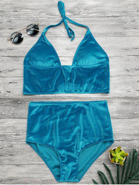 Top et bas de bikini à palette à haute taille - Pers M Mobile