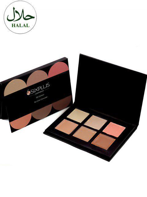 Halal 6 Farben Concealer Palettenkit - Farbig  Mobile