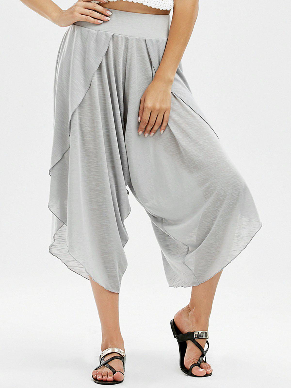 Pantalons Capri à fente