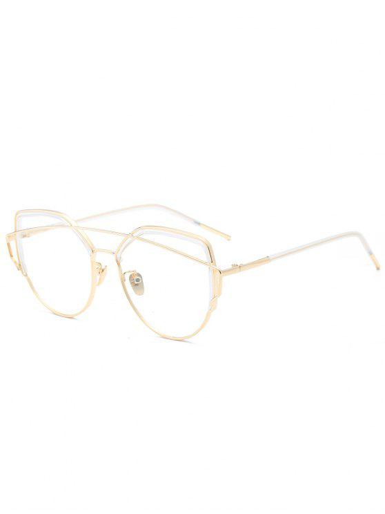 Gafas de sol Cross Eye Bar Eye Eye - Transparente