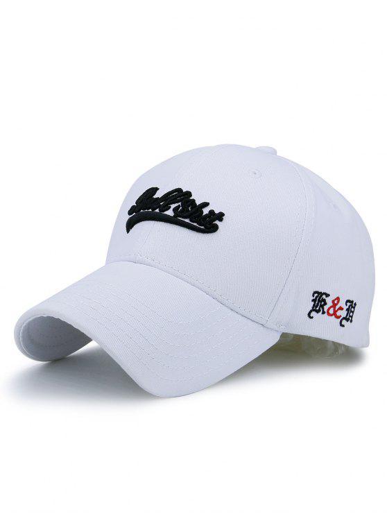 1d6900a5d7b 2018 Letters Bullshit Embroidery Baseball Cap In WHITE