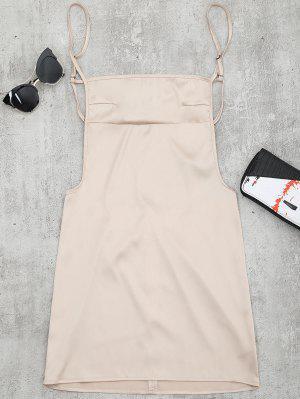 Rückenfreies Mini Cami Kleid