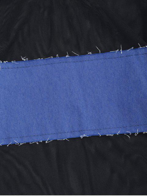 Maillot de bain en une seule pièce - Bleu M Mobile