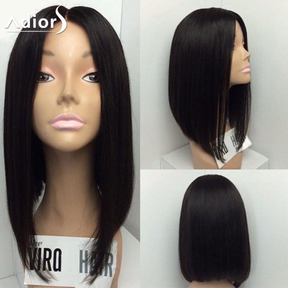 Adiors Medium Center Parting Straight Bob Synthetic Wig 214675801