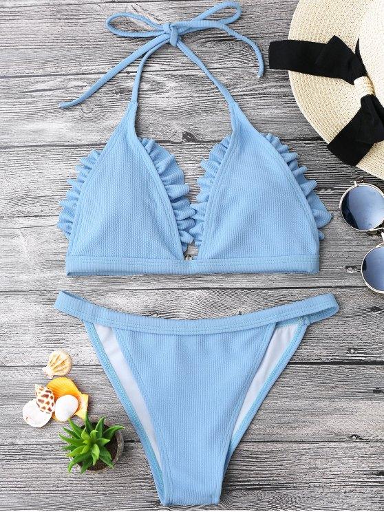 Juego de bikini Brilette - Azul Claro L