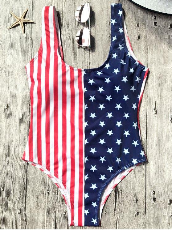 Shaping USA Patriotic One Piece Swmsuit - Bandera de Estados Unidos S