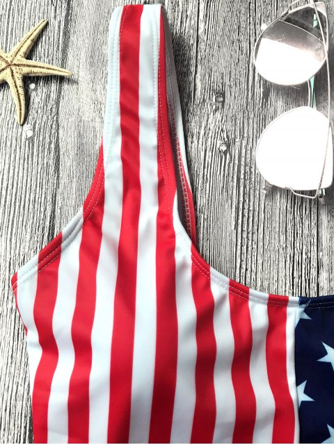trendy Shaping USA Patriotic One Piece Swimsuit - US FLAG L Mobile