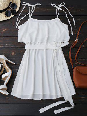 Cinturón Con Cinturón - Blanco L