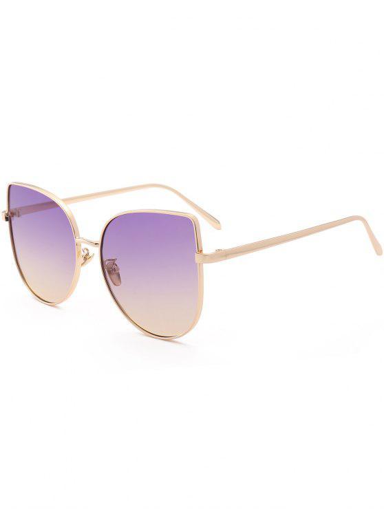 Gafas de sol de gafas graduadas color gato - Púrpura