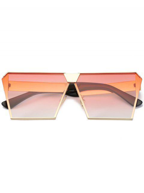 buy Vintage Square Frame Sunglasses - PINK  Mobile