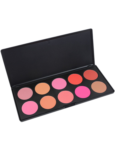 Image of 10 Colors Makeup Cosmetic Blusher