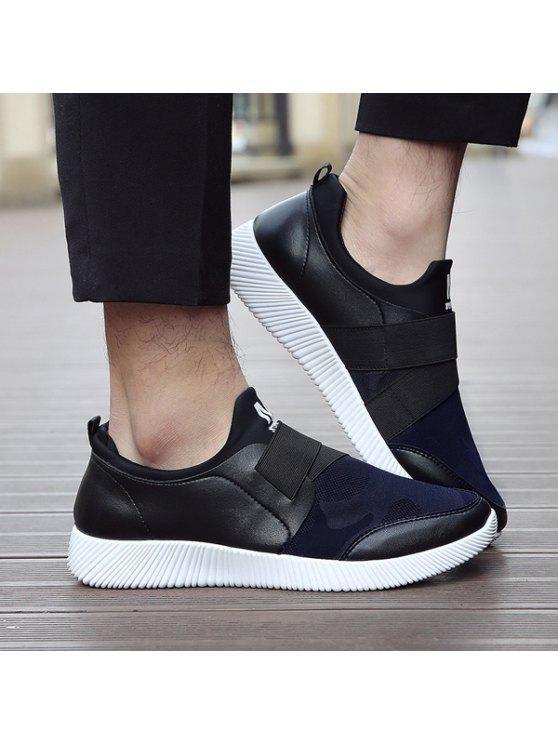 03252c531fda Stretch Fabric Elastic Band Printed Casual Shoes