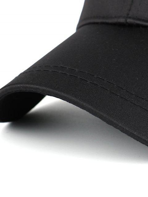 hot Bird Rose Patchwok Baseball Hat - BLACK  Mobile