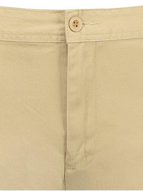 shorts avec multi poches aux bermudas du chargement - Kaki 38 Mobile