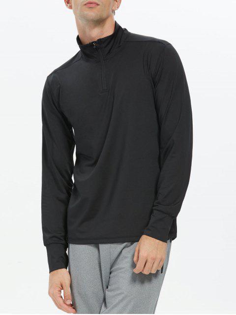 Collier long à manches longues Zip - Noir M Mobile