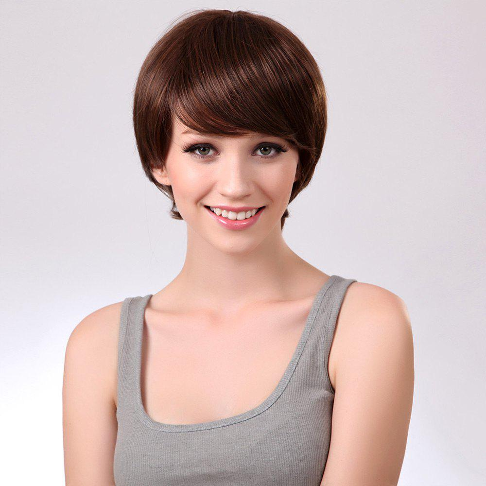 Side Bang Straight Short Synthetic Wig 215241901