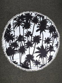 شجرة الكف، الجولة، رمية الشاطئ - أبيض وأسود