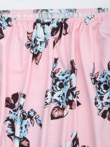 Blusa Del Floral L Impresi Hombro La De 243;n Rosado U7xIq1