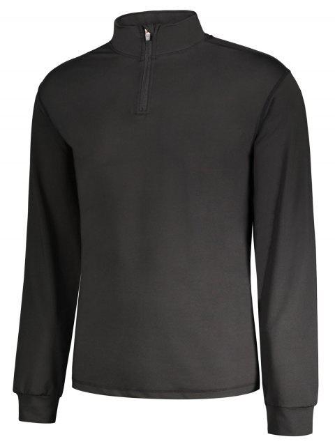 Collier long à manches longues Zip - Noir XL Mobile