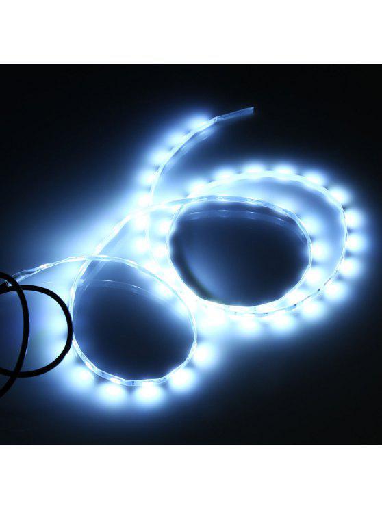 5 فولت 1 متر 60 المصابيح سمد 5730 أوسب للماء قطاع الخفيفة - أبيض