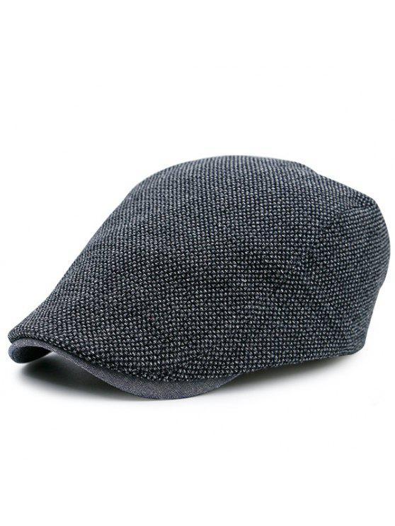 affordable Retro Outdoor Adjustable Trucker Hat - BLACK