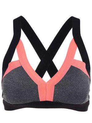 Padded Cut Out Sports Bra