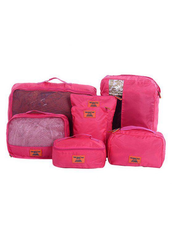 مجموعة شنط لتنظيم حقيبة السفر من 7 قطع - السانجريا