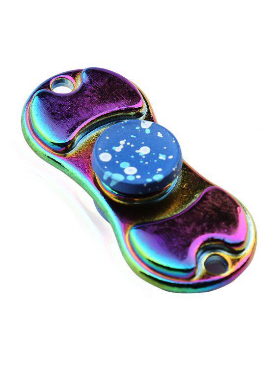 الملونة سبيكة فنجر الدوران التمزق الدوار إدك لعبة - أزرق