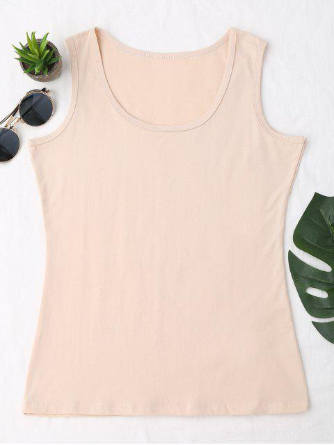 best Cotton Sports Tank Top - APRICOT ONE SIZE Mobile